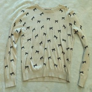 Forever 21 Bow Sweater